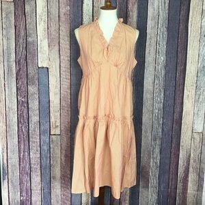 NWT Tulle Striped Lightweight Festival Dress XL